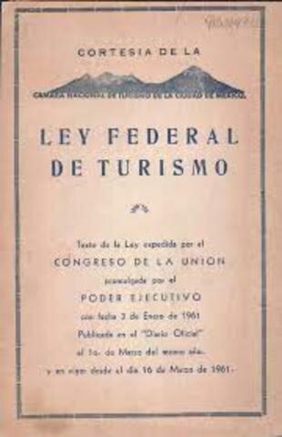Primera ley de Turismo