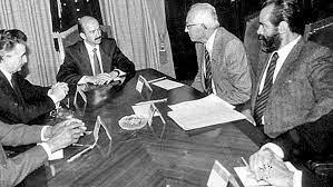 Carlos Salinas y el diálogo con el PAN.