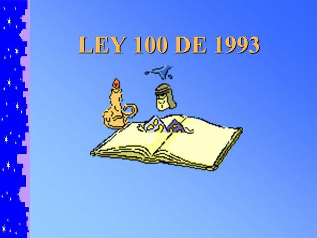 ley 100 1993