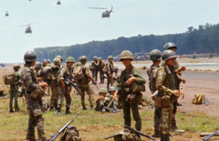 soldiers sent to vietnam