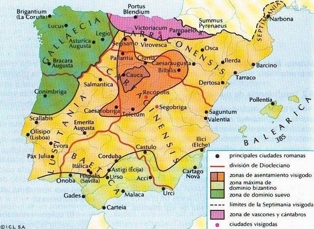Invasões Bárbaras na Península Ibérica