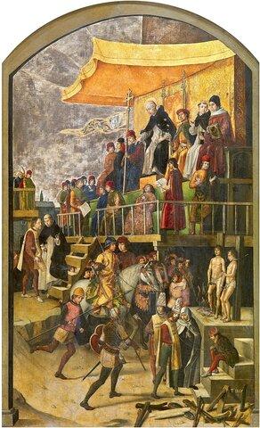 El restablecimiento de  la Inquisición (1542)
