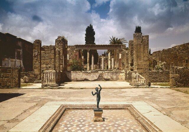 Descubrimiento  de ruinas de Pompeya (1748)