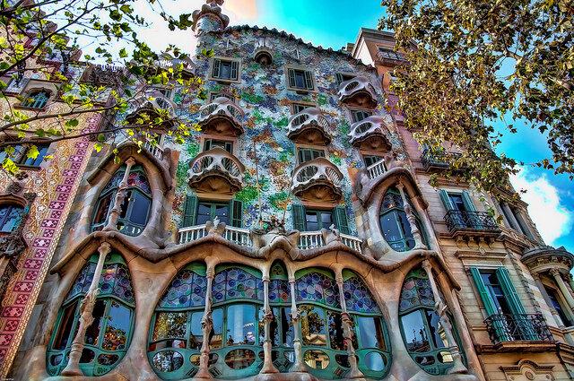 Casa Batlló de Gaudí (1877)