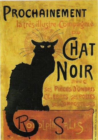 """Cabaret """"Chat Noir"""" (1881)"""