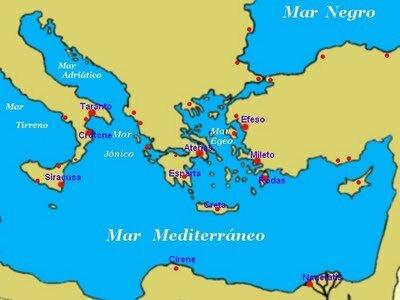 Las Colonias Griegas