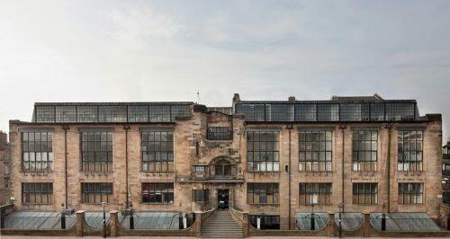 Escuela de arte de Glasgow (Makintosh, 1889)