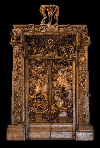 Las Puertas del Infierno, Rodin y Camille Claudel