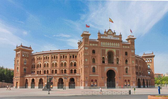 Plaza de toros de las Ventas (1922-1929). Neomudéjar