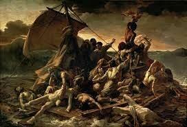 La balsa de la Medusa, 1819. Géricault