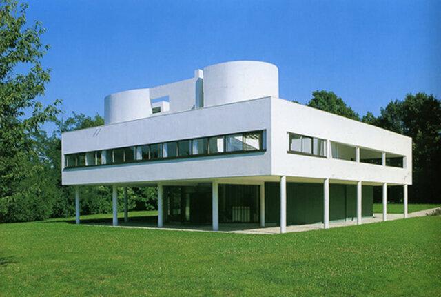 Villa Savoye (Poissy, Francia), 1928. Le Corbusier
