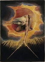 El libro de Urizen 1794. Blake (El anciano de los dias)