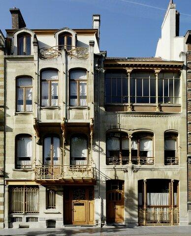 La casa de hierro (1898 y 1901). Victor Horta