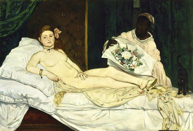 Olympia 1863. Manet