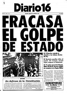 Elezioni in Spagna e colpo di Stato militare