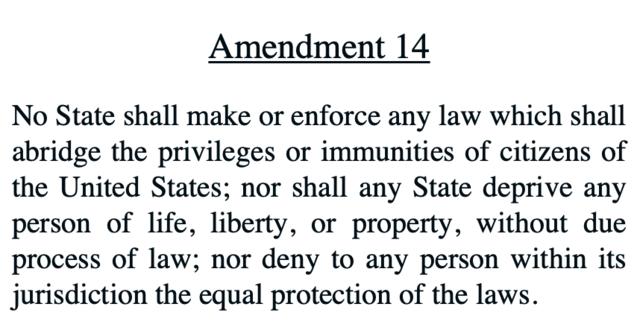 14th Amendment (1865)