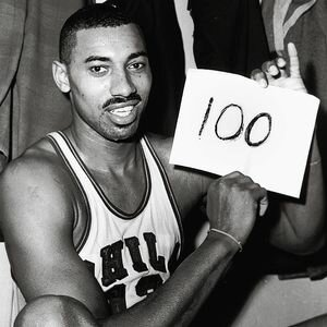 Wilt Chamberlain's 100 points in one NBA game
