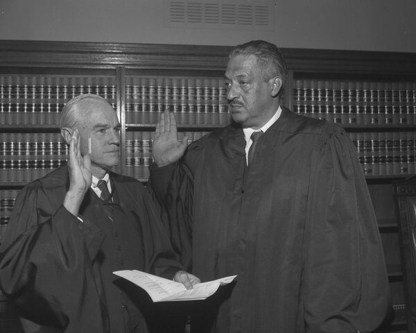 •Thurgood Marshall Appointed to Supreme Court (1967)