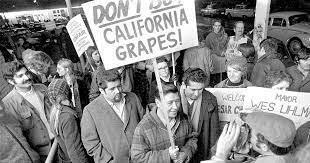 united farm workers California Delano grape strike