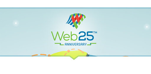 Aniversario 25 de la Web