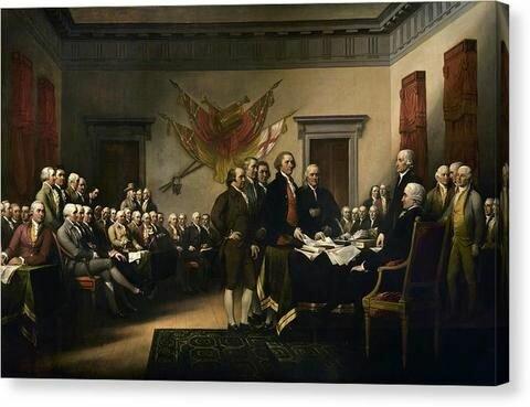 Déclaration de l'independence américaine