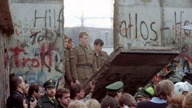 Caída Muro de Berlin