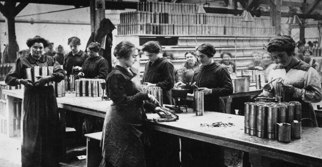 Incorporacion de la Mujer en el mundo laboral