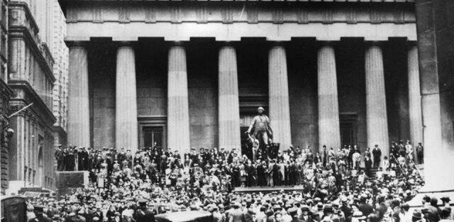 Crisi en Bolsa de Nueva York