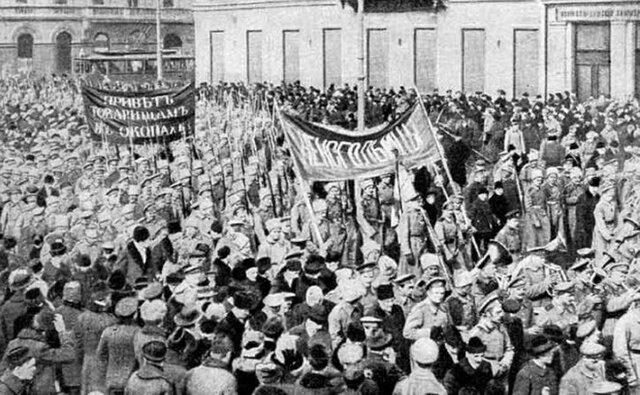 Huelgas en Petrogrado