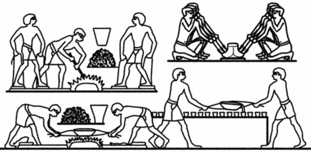 EGIPCIOS PIONEROS