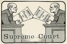 •Plessy v. Ferguson (1896)