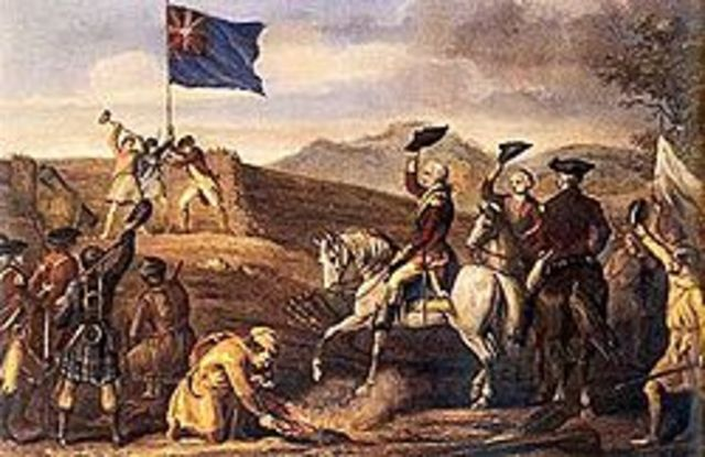 British Defeated at Fort Duquesne