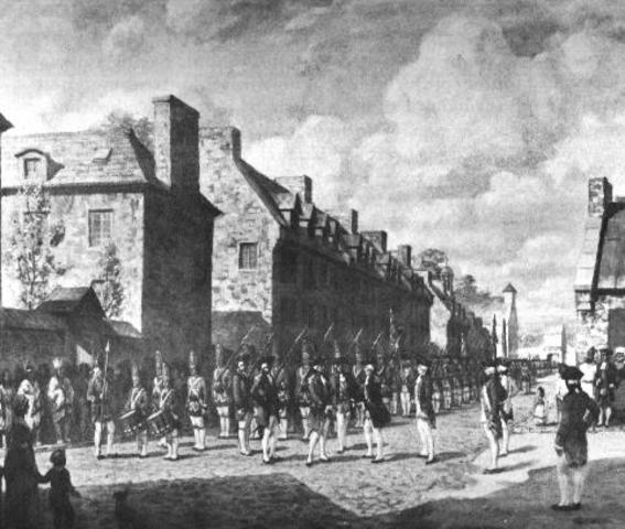 French surrender to Montreal