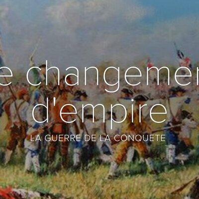 La guerre de Conquête et le changement d'empire timeline