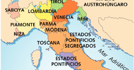 Anexión de los Estado de Parma, Módena y Toscana (1860).