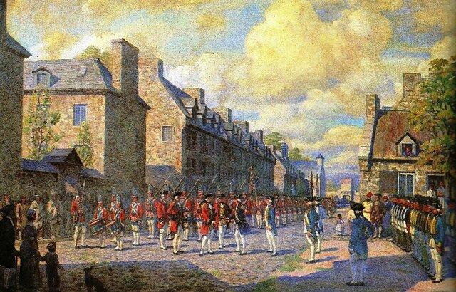 La capitulation de Montréal