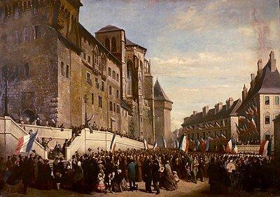 Firma del Tratado de Turín (24/Mar/1860).
