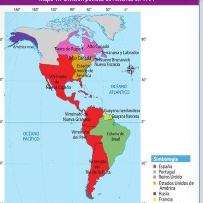Independencia de las colonias españolas timeline