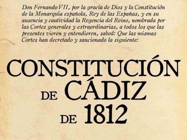 la primera constitución cadiz