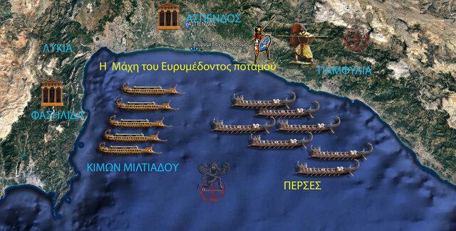 Μάχη στον Ευρυμέδοντα ποταμό