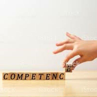 """Uso del término """"competencia"""" a través del tiempo timeline"""