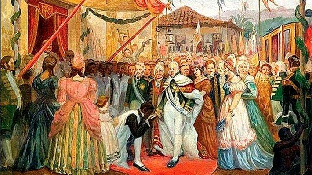 Chegada da Família Real ao Brasil - A Primeira Prensa Jornalística
