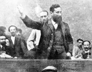 Huelga minera en Bilbao