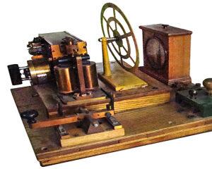 Изобретение электрического телеграфа.