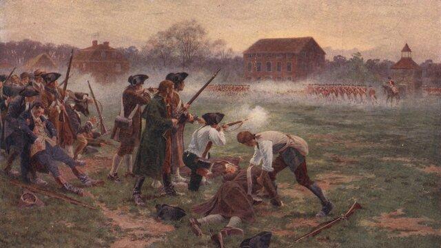 Début de la guerre d'indépendance