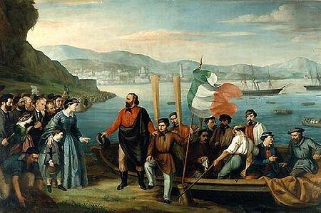 La Expedición de los Mil/De los Camisas Rojas (1860-1861).