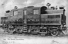 1ª Locomotora eléctrica