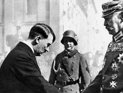 Arribada d'en Hitler