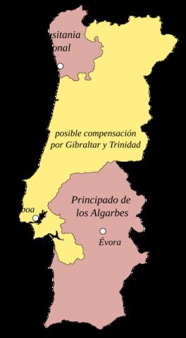 Firma del Tratado de Fontainebleau