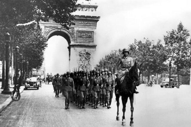 Alemanys contra francesos